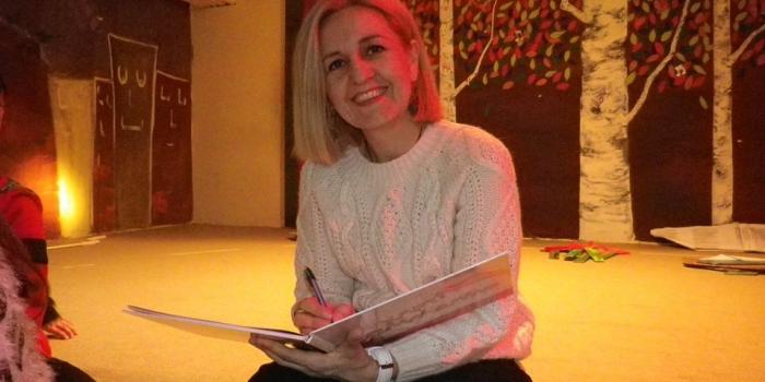 Η συγγραφέας Μαρία  Κουτσανοπούλου  στο σχολείο μας