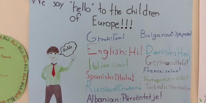 Γιορτάζοντας την Ευρωπαϊκή Μέρα Γλωσσών